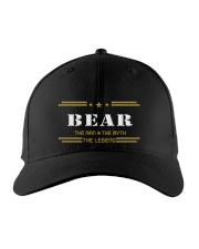 BEAR Embroidered Hat front