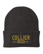 Collier Legend Knit Beanie front