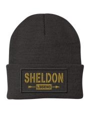 Sheldon Legend Knit Beanie front