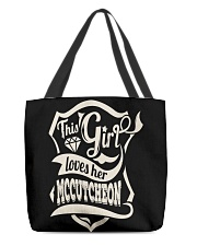MCCUTCHEON with love All-Over Tote tile