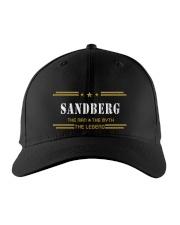 SANDBERG Embroidered Hat front