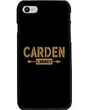 Carden Legacy Phone Case tile