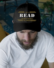 READ Embroidered Hat garment-embroidery-hat-lifestyle-06