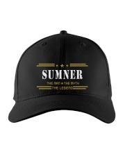 SUMNER Embroidered Hat front