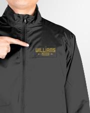Williams  Lightweight Jacket garment-lightweight-jacket-detail-front-logo-01