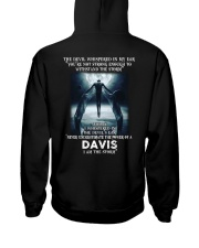 DAVIS Storm Hooded Sweatshirt back