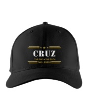 CRUZ Embroidered Hat front