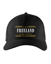 FREELAND Embroidered Hat front