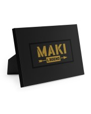 Maki Legend 10x8 Easel-Back Gallery Wrapped Canvas thumbnail