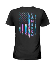 Cameron Flag Ladies T-Shirt thumbnail