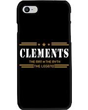 CLEMENTS Phone Case thumbnail