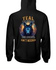 TEAL Rule Hooded Sweatshirt back