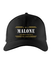 MALONE Embroidered Hat front