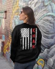 Khan 001 Crewneck Sweatshirt lifestyle-unisex-sweatshirt-back-2
