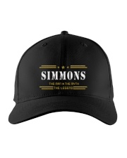 SIMMONS Embroidered Hat front