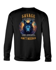 SAVAGE Rule Crewneck Sweatshirt tile
