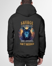 SAVAGE Rule Hooded Sweatshirt garment-hooded-sweatshirt-back-01