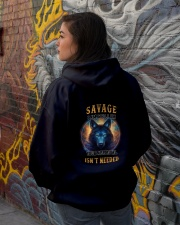 SAVAGE Rule Hooded Sweatshirt lifestyle-unisex-hoodie-back-1