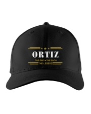 ORTIZ Embroidered Hat front