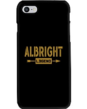 Albright Legend Phone Case thumbnail