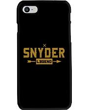 Snyder Legend Phone Case thumbnail