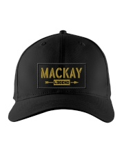 Mackay Legend Embroidered Hat front