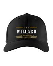 WILLARD Embroidered Hat front