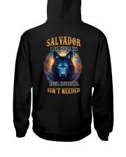 SALVADOR Rule Hooded Sweatshirt back