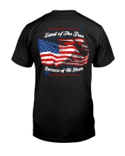 49 Veteran Land Of The F R E E Classic T-Shirt thumbnail