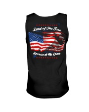 49 Veteran Land Of The F R E E Unisex Tank thumbnail