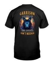 GARRISON Rule Classic T-Shirt back