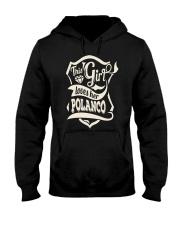 POLANCO with love Hooded Sweatshirt tile