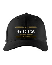 GETZ Embroidered Hat front