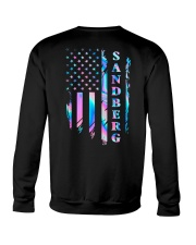 Sandberg Flag Crewneck Sweatshirt back