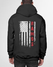 RAMOS 01 Hooded Sweatshirt garment-hooded-sweatshirt-back-01