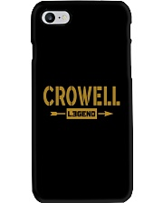 Crowell Legend Phone Case thumbnail