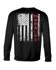 Morales 001 Crewneck Sweatshirt back
