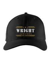 WRIGHT Embroidered Hat front