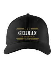 GERMAN Embroidered Hat front