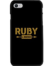 Ruby Legend Phone Case thumbnail