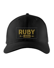 Ruby Legend Embroidered Hat front