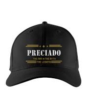 PRECIADO Embroidered Hat front