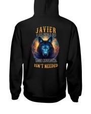 JAVIER Rule Hooded Sweatshirt back