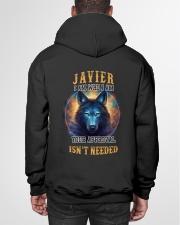 JAVIER Rule Hooded Sweatshirt garment-hooded-sweatshirt-back-01