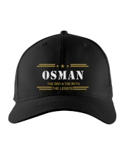 OSMAN Embroidered Hat front
