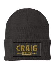Craig Legend Knit Beanie front