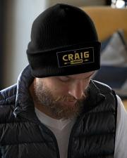 Craig Legend Knit Beanie garment-embroidery-beanie-lifestyle-06