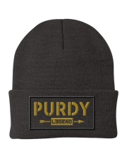 Purdy Legend Knit Beanie front