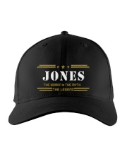 JONES Embroidered Hat front
