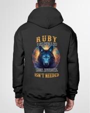 RUBY Rule Hooded Sweatshirt garment-hooded-sweatshirt-back-01